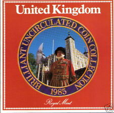 UNITED KINGDOM B U COIN COLLECTION 1985 - Collectible