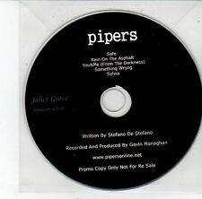 (EH5) Pipers, 5 track album sampler - 2013 DJ CD