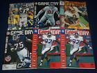 1996 NEW YORK GIANTS GAME DAY PROGRAM LOT OF 9 DIFFERENT - GREAT PHOTOS - O 2398