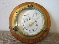 "MARITIME, REPLICA BRASS ""PORTHOLE DECK CLOCK"""