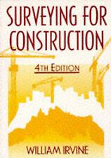 Surveying For Construction, 4E, , Very Good Book
