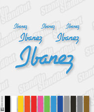 Style Ibanez logo decal pack - 16+ Colours personnalisée