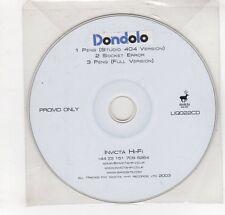 (GN909) Dondolo, Peng - 2003 DJ CD
