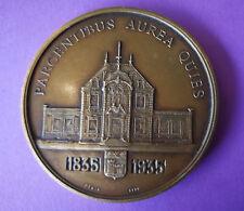 Médaille de table, Centenaire Caisse d'Epargne de Villefranche en Beaujolais