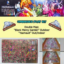"DC HEROCLIX WAR OF LIGHT OP KIT: Mapa/Map ""Black Mercy Garden"" / ""Ysamault"""