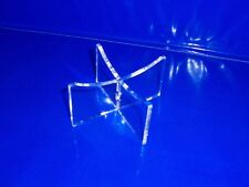 clear acrylic football display stand ball support prop