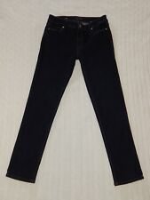 WHITE HOUSE BLACK MARKET – 4 SHORT – THE SLIM Dark Denim Jeans – #W325  *mint*