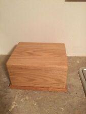 Oak Wood Cremation Adult Urn  USA made