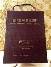 Vintage 1950's DRAPERY AND UPHOLSTERY FABRIC Sample Book DAZIAN'S HOPE ST L.A.CA
