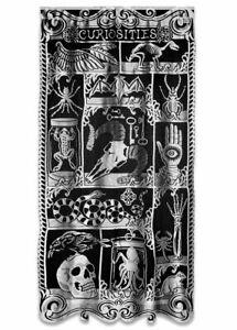 """Halloween CURIOSITIES 38"""" x 76 Door/Window Panel Heritage Lace 7515P-3876 Last 1"""