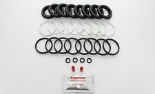 FRONT Brake Caliper Seal Repair Kit +CAST SEALS to fit NISSAN 200 SX S14 (4015)