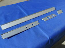 NEW 1965 66 Chevy Impala BelAir Brushed Aluminum Dash Trim Molding Non AC Cars