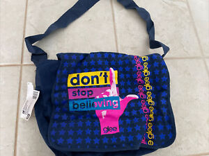 "Rare GLEE Messenger Bag ""Dont Stop Believing"" CROSSBODY BAG new w/ tags"