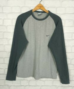 VINTAGE RETRO 90s NIKE BOLD FESTIVAL ATHLETIC SPORTS T SHIRT LONG SLEEVED TOP