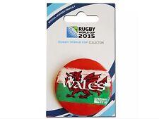Rugby Coppa del mondo entro il 2015 il Galles BUTTON BADGE-Official Licensed Product