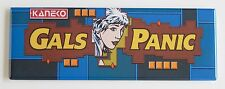 Gals Panic Marquee FRIDGE MAGNET (1.5 x 4.5 inches) arcade video game header