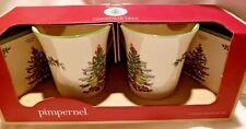 NEW Pimpernel The Story of Spode Christmas Tree Coffee/Tea Mug Coaster Set of 2