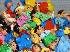 LEGO® DUPLO 5 X KINDER Figuren Männchen MÄDCHEN und JUNGS gemischt BABY R200