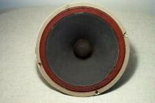 "RARE GENERAL ELECTRIC 12"" WOOFER EXTENED BASS XCLNT ALNICO 1960's SPEAKER TUBE"
