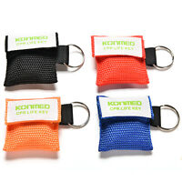 CPR Mask Keychain Bag Emergency Face Shield First Aid Rescue Bag Kit JP