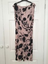 NEW A smart floral sleeveless dress and bolero ideal for day, evening or wedding