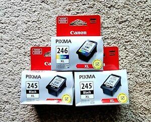 Canon PG 245XL - CL 246XL Ink Cartridges  *NEW*