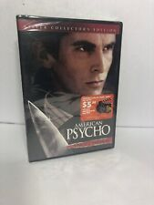 American Psycho (Dvd, 2005, Uncut) New, Sealed, Free shipping,Collectors Editio