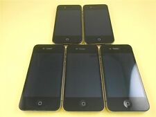 Lot 5 Apple iPhone 4S Black 8GB (Factory Unlocked) for AT&T, T-Mobile..Oversea