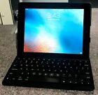Apple iPad 2 (A1396) 16GB Wi-Fi/Cellular Tablet - Black w/Zagg Keyboard