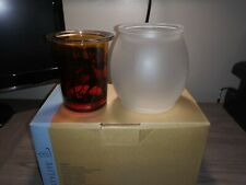 New in Box Partylite Outback Votive Glass Candle Holder (Kangaroo light) P91517