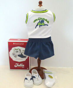 American Girl JULIE HOME GAME UNIFORM - NEW IN AG BOX - FREE SHIPPING