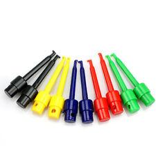 10pcs Lead Wire Kit Test Hook Clip Grabber Test Probe Smtsmd For Multimeter Usa