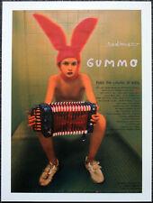 GUMMO 1997 FILM MOVIE POSTER PAGE . HARMONY KORINE . N45