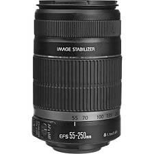 4th Of July Sale 55-250mm NEW Canon EF-S 55-250 mm f/4-5.6 IS II Lens 5123B006