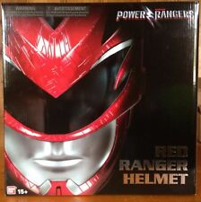 New Saban's Power Rangers Movie 2017 Legacy Red Ranger Helmet Role Play MISB