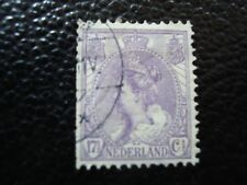 -Paesi Bassi francobollo yvert/tellier n° 56 oblitere 2eme scelta denti corto