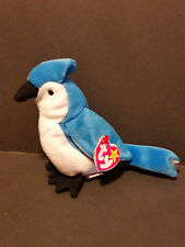 1998Ty Beanie Baby ~ ROCKET the Blue Jay Bird with TAG