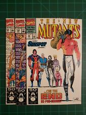 New Mutants #99, 100, And 100 (9.2, NM-) 1st And 3rd Print * 3 Book Lot *