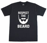 Respect The Beard Loose Fit Funny Mens T-Shirt