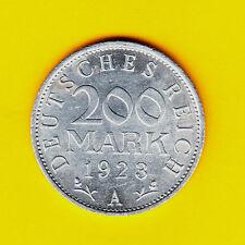 200 Mark 1923 A Stempelglanz
