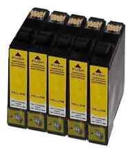 5 gelbe Patronen Tinte für EPSON STYLUS BX305F BX305FW SX125 SX420W SX130 SX425