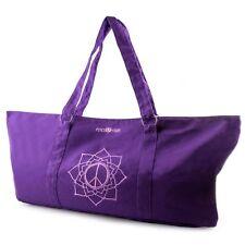 Yoga Mat Carrier Tote Bag - Purple