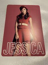 Snsd Jessica Girls & Peace japan 2nd Tour Official  Photocard Card Kpop K-pop