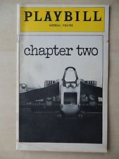 April 1978 - Imperial Theatre Playbill - Chapter Two - Judd Hirsch - Gillette