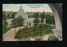 USA Washington TACOMA Wright Park Conservatory Used 1918 PPC
