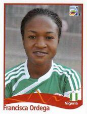 Panini Sticker Frauen Fußball WM 2011 Nr. 82 Francisca Ordega NIG Nigeria NEU