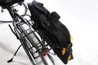 WATERPROOF CYCLE PANNIER BAG BRIEFCASE SATCHEL TYPE TO FIT BIKE CARRIER COMMUTER