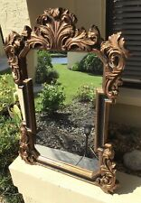 Exquisite Hollywood Regency Style Rococo Wall Mirror by Ambience