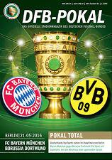DFB-Pokalfinale Berlin 21.05.2016 FC Bayern München - Borussia Dortmund