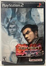 Tekken Tag Tournament for Sony Playstation 2 PS2 CIB Complete Black Label NTSC